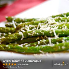 """Oven-Roasted Asparagus 
