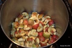 Can or Freeze Apple Sauce --- free apples are the best