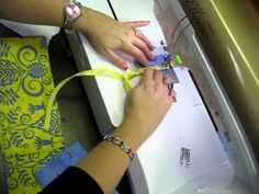 Shreveport Sewing Center, LA - How to install an invisible zipper (using invisible zipper foot) by Missy Billingsley