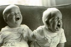 """""""relax I was just kidding!""""  Ha. The one on the left reminds me of my dad. ;)"""