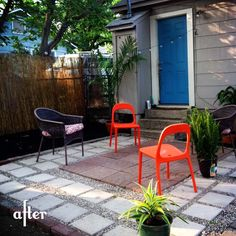 simple one day diy patio
