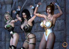Inner Universe girls - Damsels in distress by Uroboros-Art on deviantART