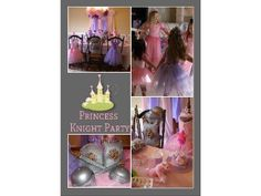 Princess Birthday Party Ideas. Princess and Knight Party to Go Box at http://www.myprincesspartytogo.com #princesspartyideas #princessknightparty