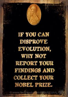#Atheist quote about #Evolution