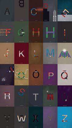 Super Hero Typography