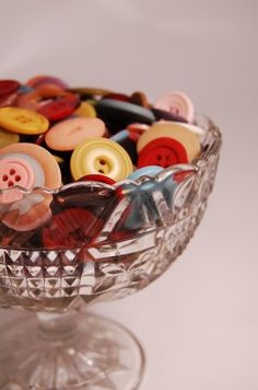 button display, thing button, color, bottles, bags, button button, bowls, cut glass, vintag button