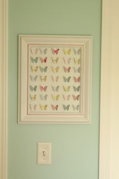 Cute butterfly wall hanging