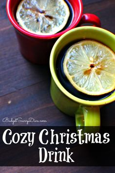 This drink is perfect for your Christmas celebrations this year :) Pin it!