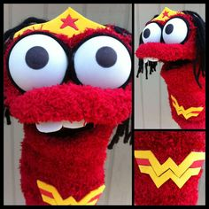 Sock Puppets - Superhero.
