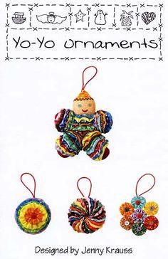 Yo-Yo Ornaments Pattern for sale