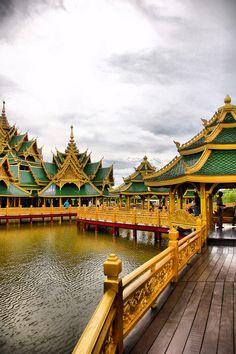 "Pavillion of the Enlightened at Muang Boran, the ""Ancient City"" | Samut Prakan, Thailand"