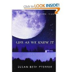 A trilogy of books with an interesting perspective; definitely makes you think. (By Susan Beth Pfeffer, a cataclysmic astronomical event threatens the very existence of the world and all of humankind. An event like this is too immense to imagine in any detail, but the story is told from the point of view of one 16 year old girl living in Pennsylvania, and the apocalyptic event is viewed from the perspective of one person.)