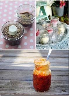Chili and cornbread in a jar jar meal, masons, mason jar recipes, food, chilis, chili recipes, cornbread, mason jars, iowa girl eats