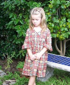 Isla Dress (Sizes 1 to 6) Sewing PDF Pattern and Tutorial. $7.00, via Etsy.