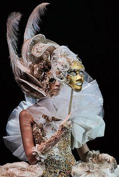 Fantasy #mask #masquerade