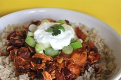 Buffalo Chicken Chilli - Slimming World friendly