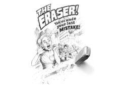 The Eraserby Brian Cook #threadless #cloths