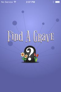 Find A Grave Mobile App Released