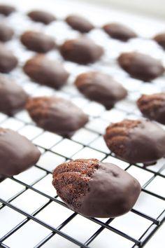 Chocolate Madeleines Tray 1