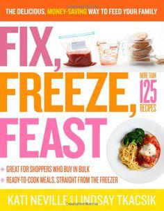freezer dinners, freezer meals, cookbook, famili, freezer recipes, entre, freezer cooking, apartments, back to school