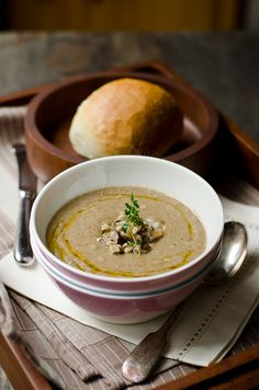 Mushrooms and Barley Soup
