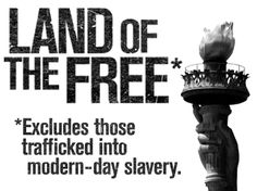 Help stop human trafficking.