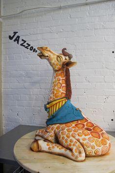 karen portaleo, bakeri, cake decor, 2011, amaz cake, anim cake, giraff cake, big giraff, giraffes