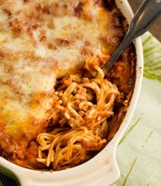 Baked Spaghetti - Paula Deen's Style