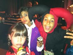Tyree Brown, Xolo Mariduena, and Savannah Paige Rae get into the Halloween spirit #Parenthood