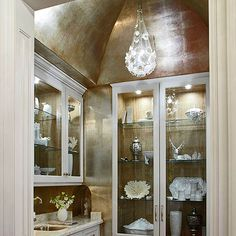 Butler's Pantry - Glamour and Sophistication - Traditional Home