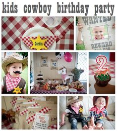 Cowboy birthday games