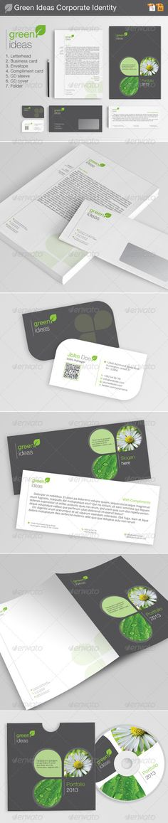 Green Ideas Corporate Identity