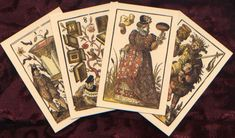 Dating to 1588 this 52-card deck is based on one of the most significant works of Jost Amman, one of the more prolific artists of the German Renaissance. Retail and wholesale pricing available.
