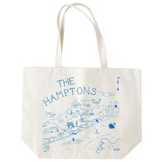 Perfect for the beach!  Hampton's Beach Tote by Maptote