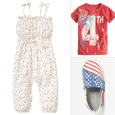 Fourth of July Kids' Clothing and Shoes