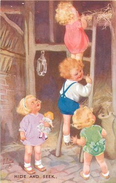 ~ vintage Oilette postcard