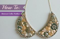 21 DIY Collar Necklace Ideas