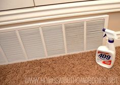 Cleaning Tip: Air Vents
