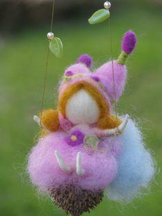 love fairy swings on a seed