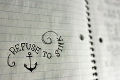 tat? ...I refuse to sink