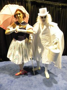 ghost costumes (from the Haunted Mansion)