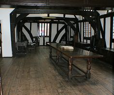 The haunted bible of the haunted book room of Leicester Guildhall, England . The bible on the desk gets moved at night and the pages get turned One of 5 ghosts likes to read it.