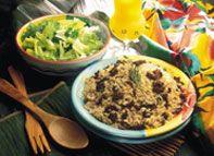 Haitian Recipe:  Rice With Black Mushrooms