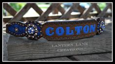 """Custom halter Noseband for """"Colton"""""""