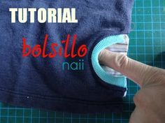 Bolsillo Chaleco (Side Pocket Tutorial  || Naii   In Spanish, Great Pics