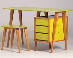 Art deco desk (1930/40's) | Designer: André Sornay