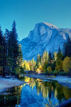 Half Dome - Yosemite Valley, California