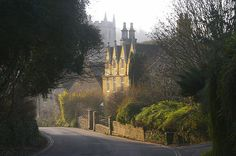 old buildings, england, back home, old world charm, castl comb, english castles, old houses, road, prettiest villag