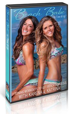 Tone it up ~ Beach Babe 7 Toning Workouts with Karena and Katrina.