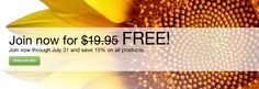 Purchase Shaklee is July your membership is free! That means 15% All products for a lifetime #shaklee #free #summer